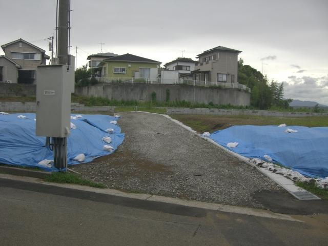 「閑静な住宅地」土地広々で平屋のマイホームを検討されているかたはいかがですか?4区画分譲地写真