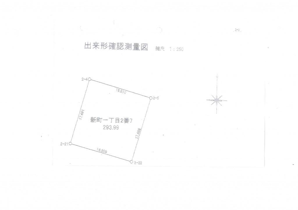 宮崎市清武町新町1丁目の土地間取り/配置図