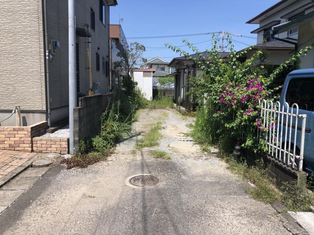 大宮中学校近くの人気エリア!徒歩圏内にホームセンターもあり生活環境は充実です!解体渡し!写真
