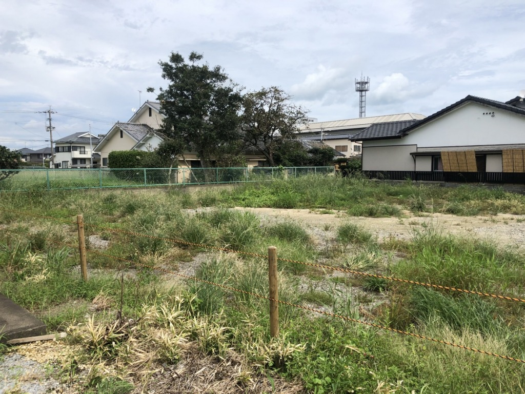 宮崎駅東通線近くの土地です!イオンまで交通アクセスが良くなる吉村町地域での売地!写真