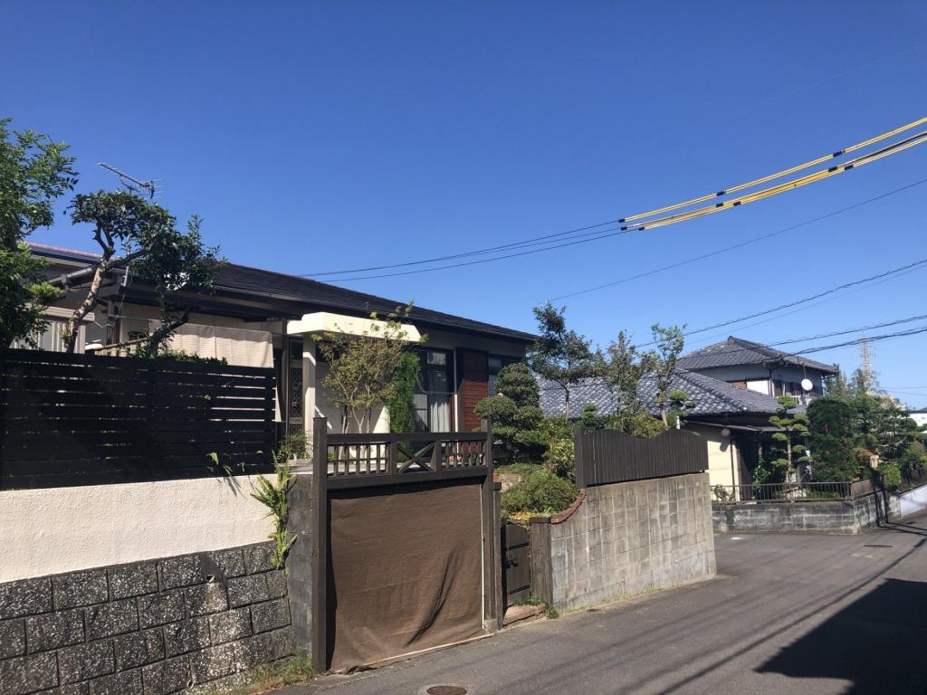 宮崎市古城町の中古住宅間取り/配置図