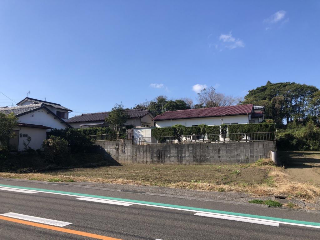 宮崎市田野町の土地間取り/配置図