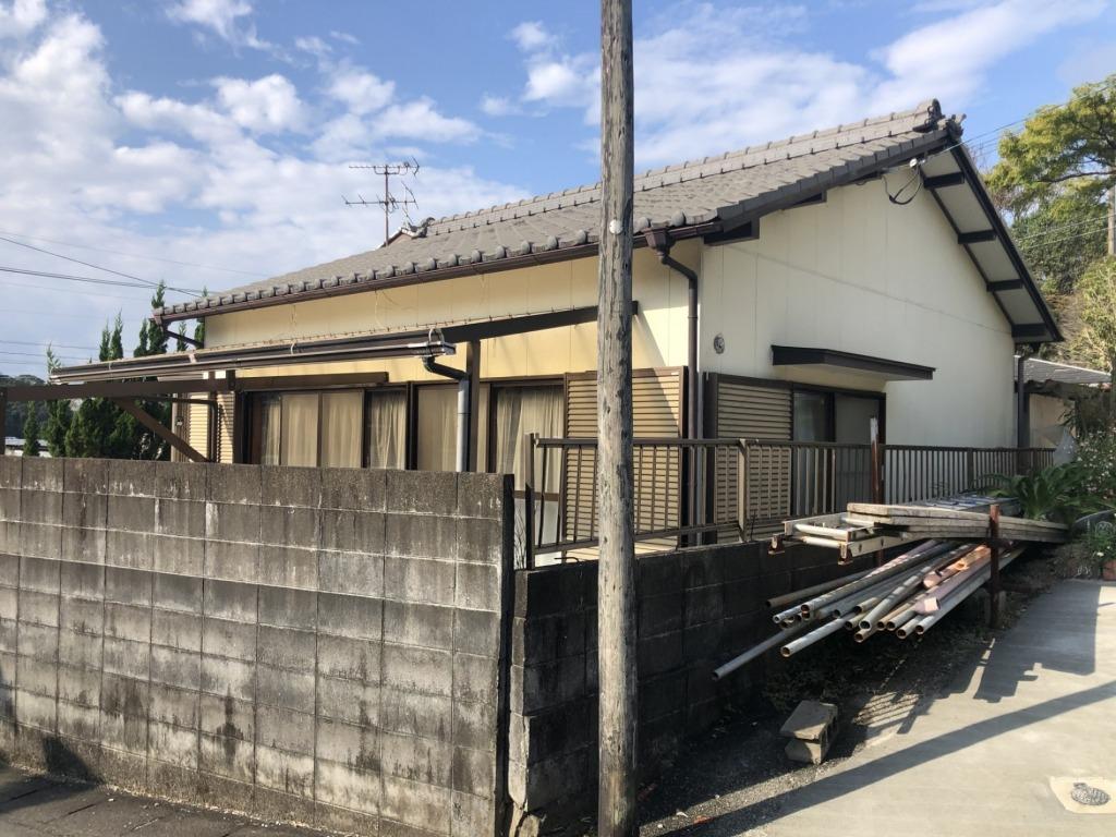 宮崎市大字本郷北方の中古住宅間取り/配置図