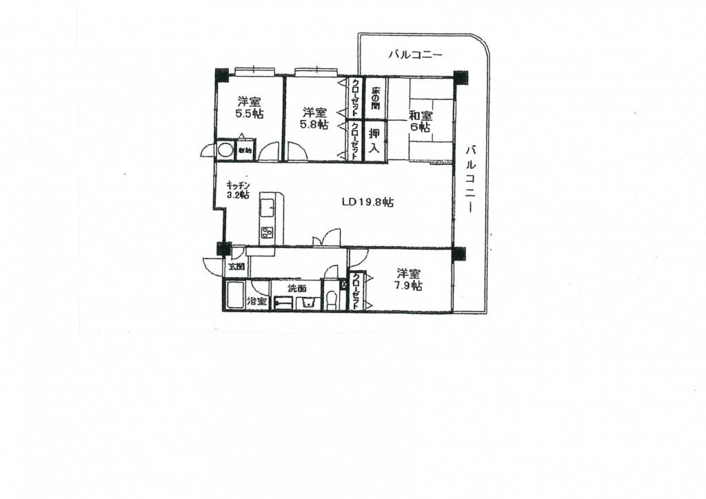 宮崎市大塚台東1丁目のマンション画像2