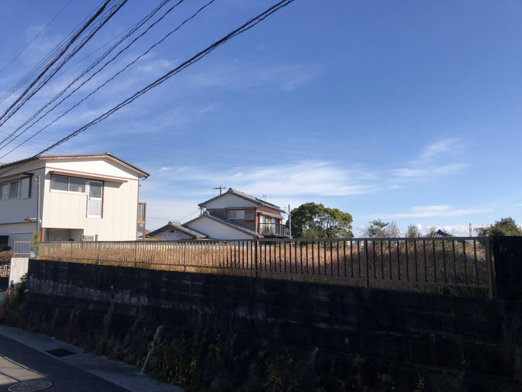 宮崎市桜ヶ丘町の土地間取り/配置図