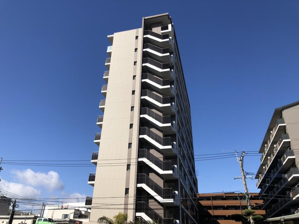 宮崎駅まで徒歩5分の好立地の最上階!ペット可!今話題のアミュプラザみやざきへの買い物にも便利!ビジネスに向いたマンションです!画像4