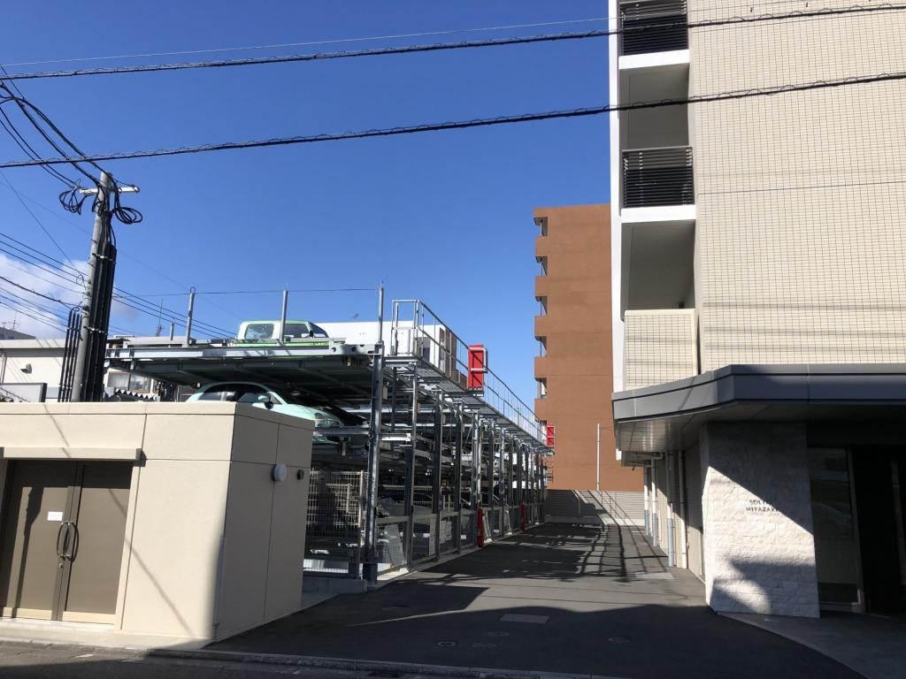 宮崎駅まで徒歩5分の好立地の最上階!ペット可!今話題のアミュプラザみやざきへの買い物にも便利!ビジネスに向いたマンションです!画像5