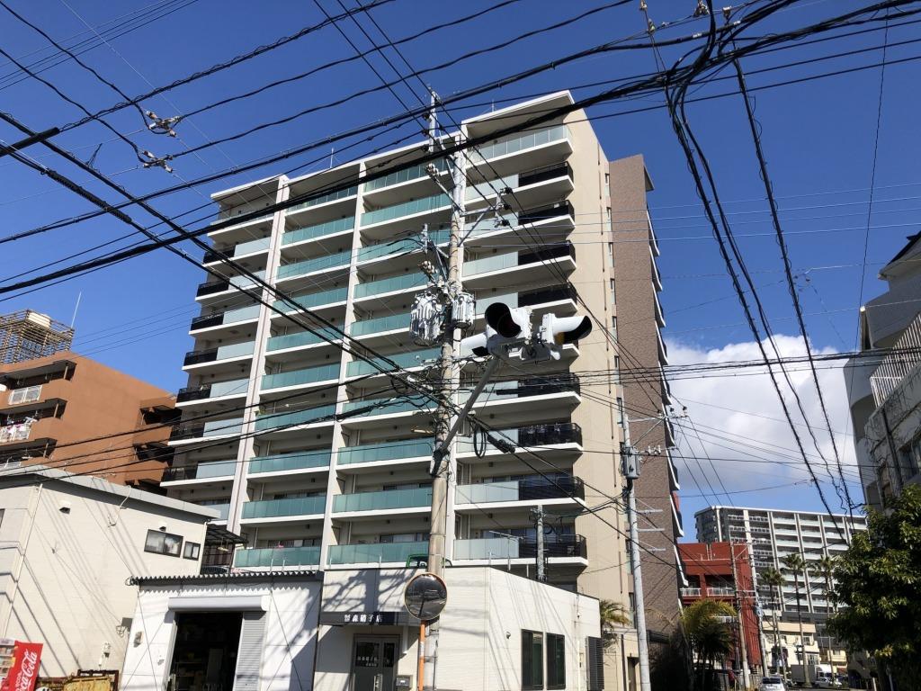 宮崎駅まで徒歩5分の好立地の最上階!ペット可!今話題のアミュプラザみやざきへの買い物にも便利!ビジネスに向いたマンションです!画像2