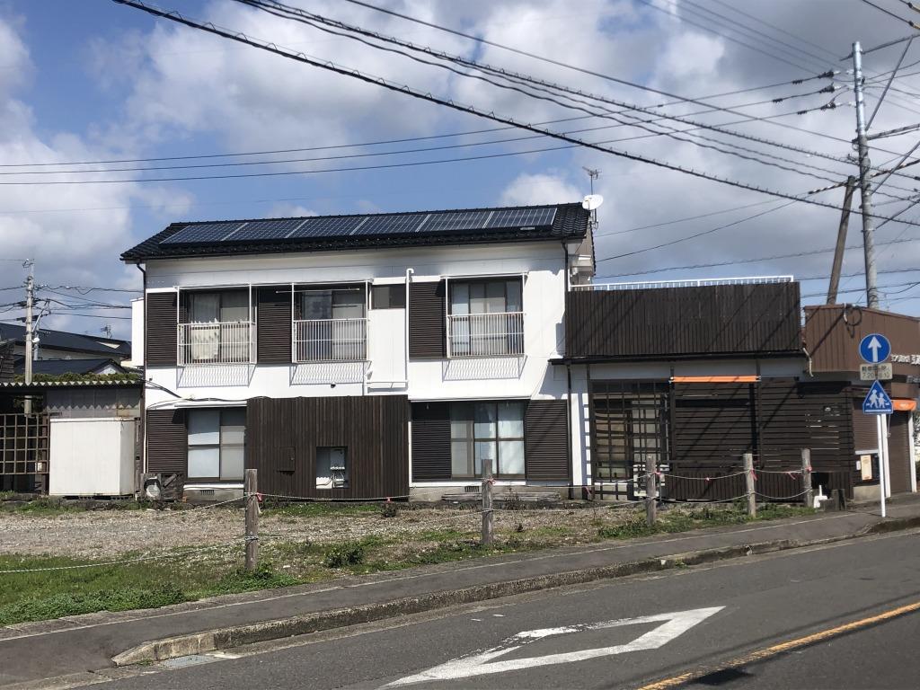 宮崎市田野町の中古住宅間取り/配置図