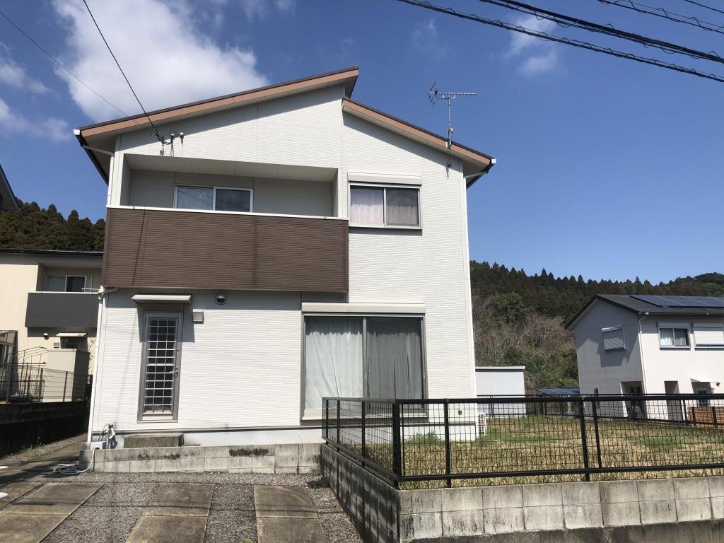 宮崎市大字鏡洲の中古住宅間取り/配置図