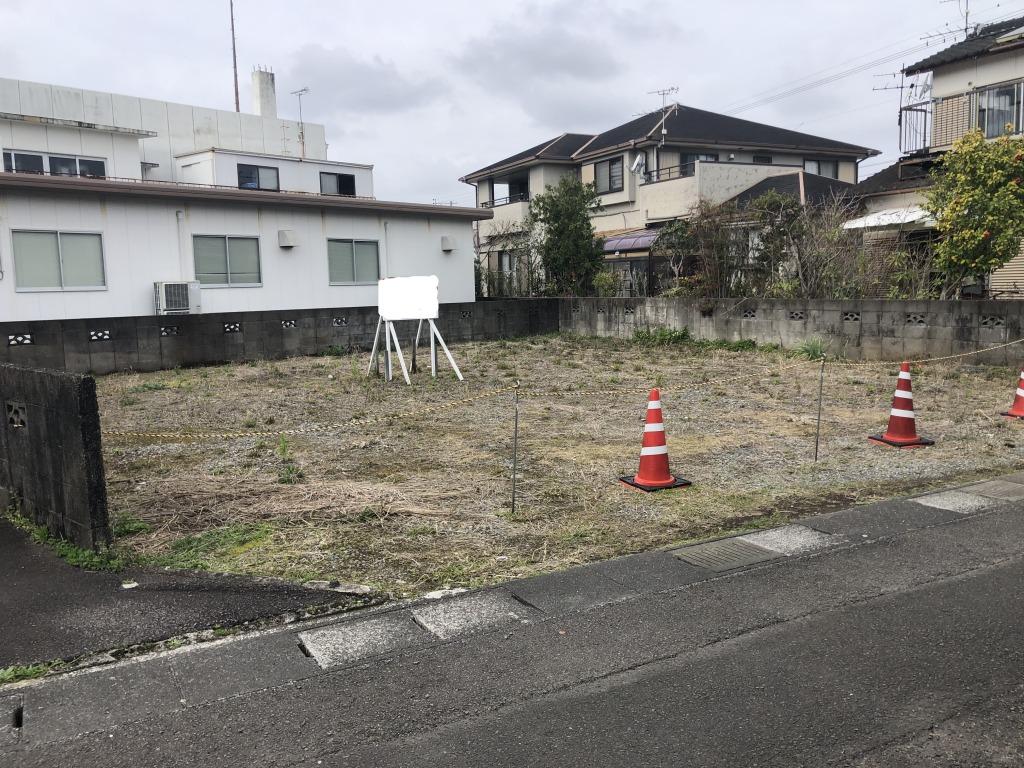 宮崎市高洲町の土地間取り/配置図