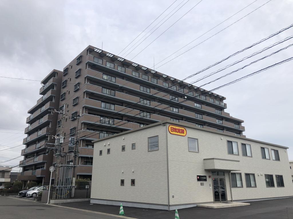 宮崎市柳丸町のマンション間取り/配置図
