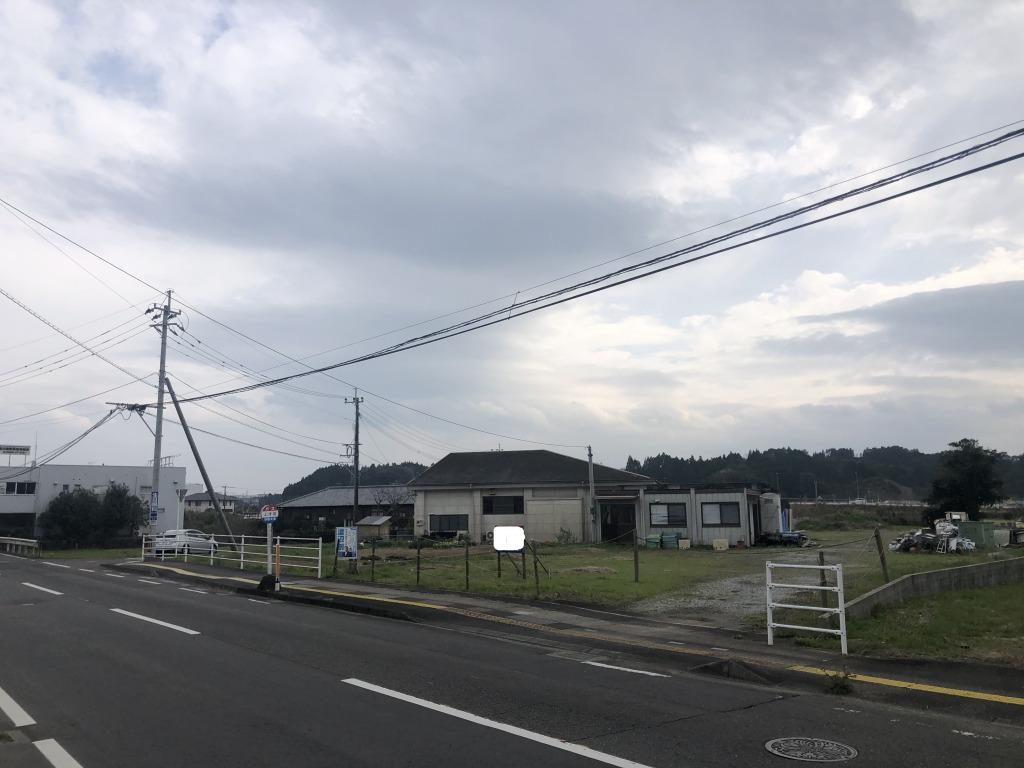 宮崎市浮田の土地間取り/配置図