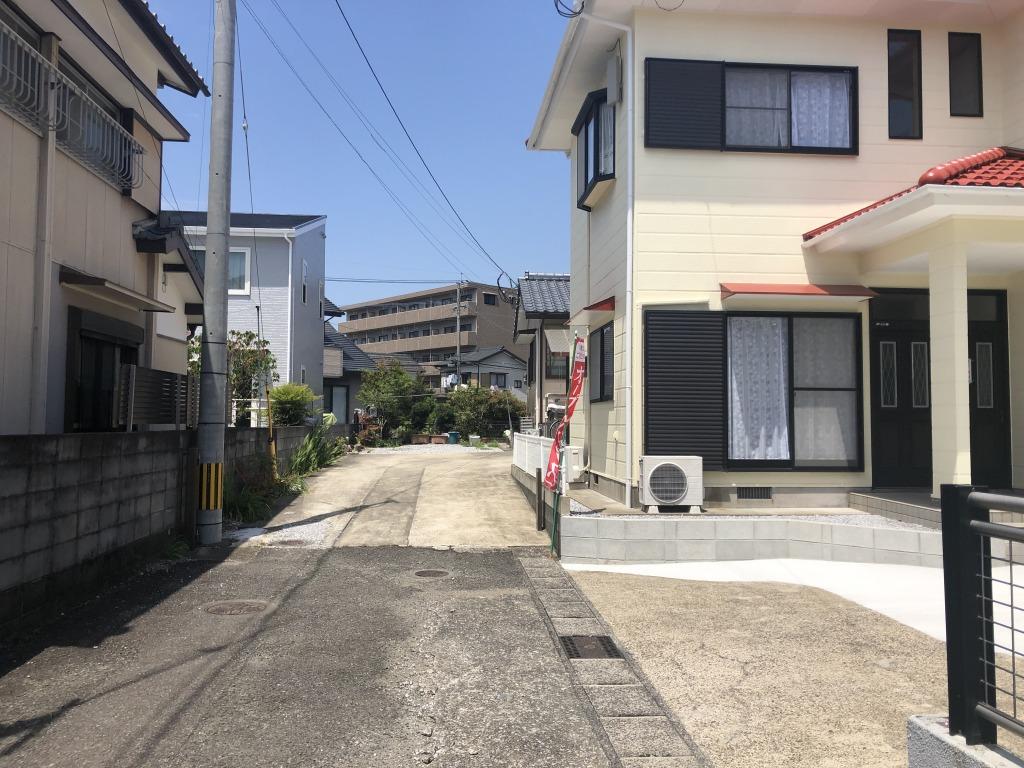 宮崎市大塚町宮田の中古住宅間取り/配置図