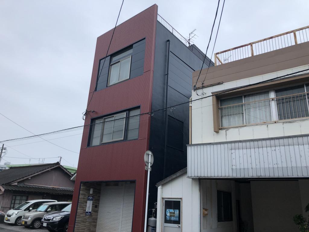 太田3丁目の4階建て(居宅付テナントビル)!大通りより東側の筋に入っていますので車通りは少ないです!住んでも良し、貸しても良し!自由な使い道がある物件です!画像2