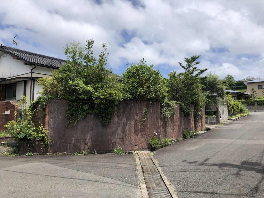 宮崎市大塚台西2丁目の土地間取り/配置図